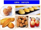 Aprovado pela CE bolo automática da máquina para a fábrica de Alimentos