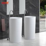 Gesundheitliches Ware-Stein-Badezimmer-Untersatz-Wäsche-Innenbassin