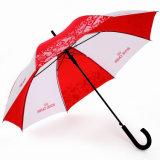 Выдвиженческое персонализированное изготовление зонтика хорошего цены прямое