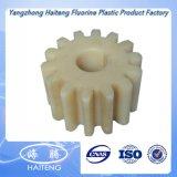 Подвергли механической обработке CNC, котор пластичное Nylon колесо шестерни шестерен PA6g