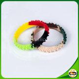 Bracelets faits sur commande de bonne qualité de silicones de remous