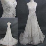 Nouveau cordon personnalisé de la Dentelle de mariée robe de mariage long train