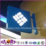 Vide acrylique de Silk-Screen de mur formant le cadre d'éclairage LED