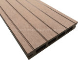 Material de construção no exterior de madeira de azulejos do piso do WPC Deck de plástico