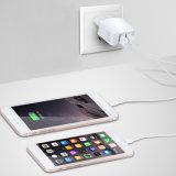 Nos de la UE de 2,5 a 2 puertos USB 5V adaptador de cargador para iPhone x