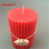 Craft Decorative talk Shaped Pillar Candles for poison