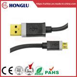 Telefono mobile un USB del maschio al micro cavo del USB di B