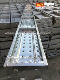 BS1139 échafaudage plate-forme de travail du métal galvanisé Acier Plank/Deck/Conseil