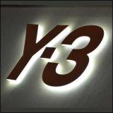 Vacuüm 3D Acryl LEIDENE de van uitstekende kwaliteit Verlichte Tekens van de Brief