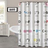 Umweltfreundlicher EVA-Duschvorhang mit Wasser-Abwehrmittel-Form geben frei
