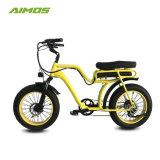 Nouveau design de graisse électrique avec moteur Bafang Ebike siège double