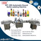 Автоматическая машина для прикрепления этикеток круглой бутылки для бутылки микстуры (MT-200)