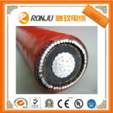 cabo distribuidor de corrente de Amoured do revestimento de PVC Da isolação de 0.6/1kv /XLPE