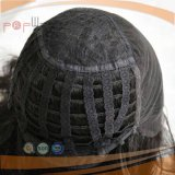 Peluca posterior hecha a máquina delantera de las tramas del cordón (PPG-l-0694)