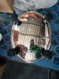 Cubierta de boca elíptica sanitaria del acero inoxidable para los recipientes del reactor