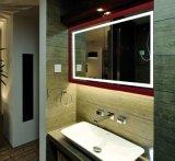 Indicatore luminoso illuminato moderno dello specchio della stanza da bagno del LED