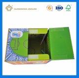 Caixa de empacotamento do presente Foldable do cartão (caixa de transporte barata)