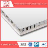 Le marbre rigidité élevée aux chocs de panneaux en aluminium de pierre Honeycomb Hall Wall/ mur de fond