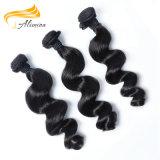 Um cabelo humano do cabelo indiano fornecedor do cabelo humano