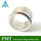 D30*D22.5*2 de dunne Magneet van NdFeB van de Ring met Permanent Magnetisch Materiaal