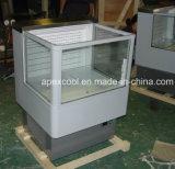 Refrigerador de la visualización del supermercado comercial/refrigerador abiertos de la visualización del impulso de los congeladores del escaparate de la visualización de la alta calidad/de la cortina de aire