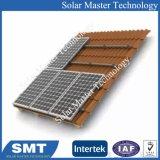 Galvanisé ondulé aigu du système de montage de toit