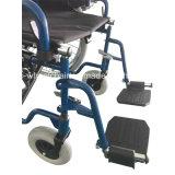 手動鋼鉄、二重十字の波カッコ、クイックリリースのスポークの車輪、PUのタイヤ、経済の車椅子