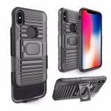 Neuer Mischling TPU PC 2 in 1 schützendem Fall-Rüstungs-Deckel-Fall für iPhone 10