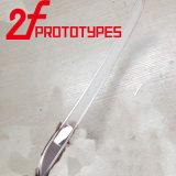 Altas piezas Polished claras transparentes plásticas del CNC