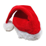 Cappello molle rosso della Santa della festa di Natale della decorazione della peluche di vendita calda