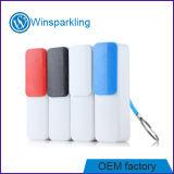 côté mobile de pouvoir d'approvisionnement d'alimentation par batterie du chargeur 2600mAh
