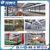 Revêtement en poudre blanche usine OEM 6063 T5 Rail profilé en aluminium pour le Rideau
