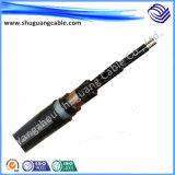 Baixo total da fita do fumo/halogênio Free/PE Insulated/Cu selecionado/Swa/PE Sheathed/cabo do computador