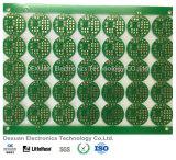 PWB de doble cara de la tarjeta de circuitos impresos para la electrónica con oro de la inmersión