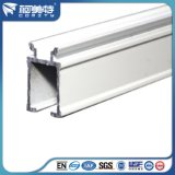 유럽 Quality에 있는 공장 6063t5 White Powder Coating Curtain Rai Profile