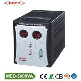 Тип регулятор релеего автоматического напряжения тока AC 5000va с цифровой индикацией