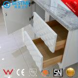 Floor-Mounted твердый деревянный шкаф для ванной комнаты (BY-X7104)