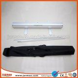 Roll up Stand de la bannière horizontale avec alliage en aluminium