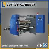 Adhesivo de alta velocidad de rebobinado automático de la etiqueta y la máquina de corte