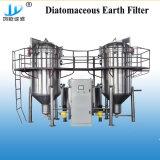 1000L/H Type de filtre de la diatomite bougie