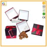 Rectángulo de regalo de papel, rectángulo de empaquetado de papel
