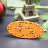Patch de couro barato personalizado de moda na China