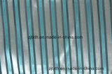 파란 색깔에 있는 자카드 직물 지구 디자인 방석 직물