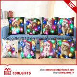 LEIDENE van Kerstmis van de decoratie Vrolijke Lichte Hoofdkussen/Pillowslip voor Festival en Partij