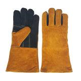 Жаропрочные перчатки для барбекю из натуральной кожи защитный сварки безопасности правой крышки вещевого ящика
