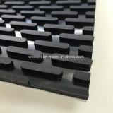 Bande de conveyeur en bois de marbre de PVC de ténacité élevée
