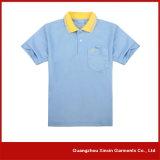 Camisas de polo da impressão do projeto da forma da fábrica do OEM para anunciar (P54)
