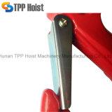 Красным крюк покрашенный сплавом металлический щелчковый для подниматься