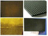Singolo modulo esterno & dell'interno giallo della visualizzazione di LED P10