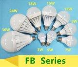3W//5W/7W/9W/12W Bombilla LED de plástico